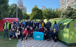 Rotary'den Depremzedelere 100 Çadırlık Yaşam Alanı