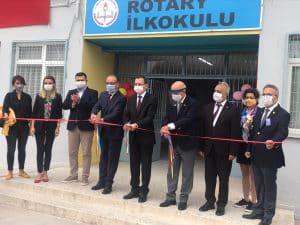 Turgutlu Rotary İlköğretim Okulu Yenilendi